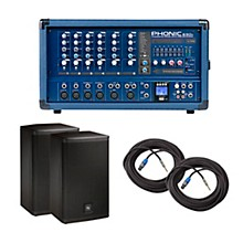 Phonic PA Package with Powerpod 630R Mixer and Electro-Voice Live X Speakers