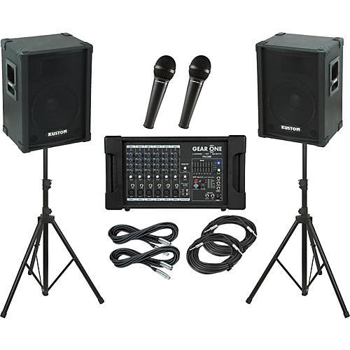 Gear One PA1300 / Kustom KPC12 PA Package