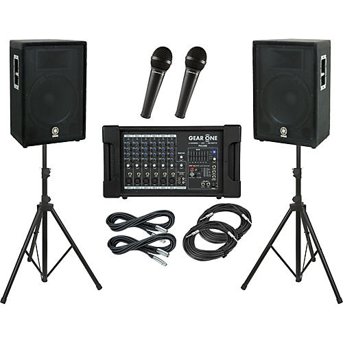 Gear One PA1300 / Yamaha A15 PA Package