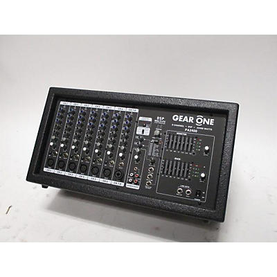 Gear One PA2400 Powered Mixer