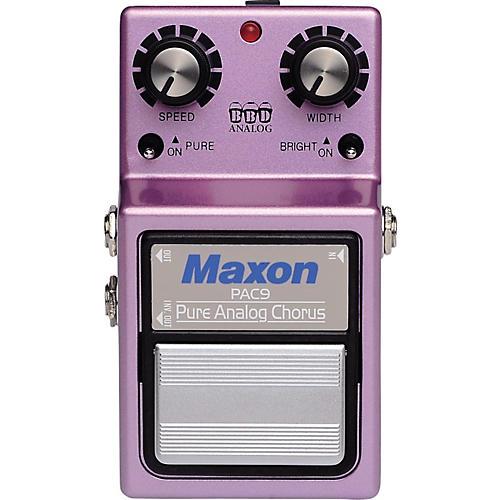 Maxon PAC-9 Pure Analog Chorus Guitar Effects Pedal