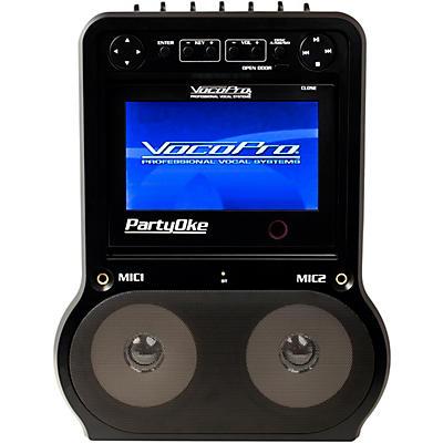 "Vocopro PARTYOKE CDG/DVD/Bluetooth Digital Karaoke System with 7"" Display"
