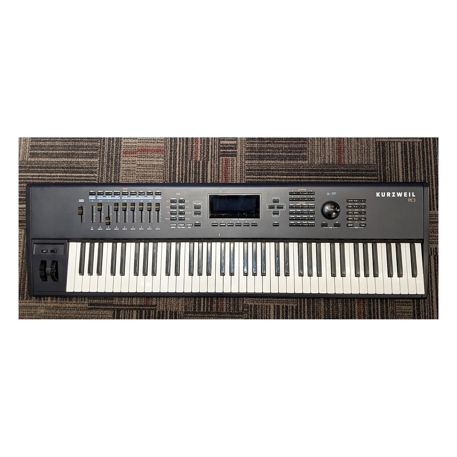 Kurzweil PC3 76 Key Keyboard Workstation