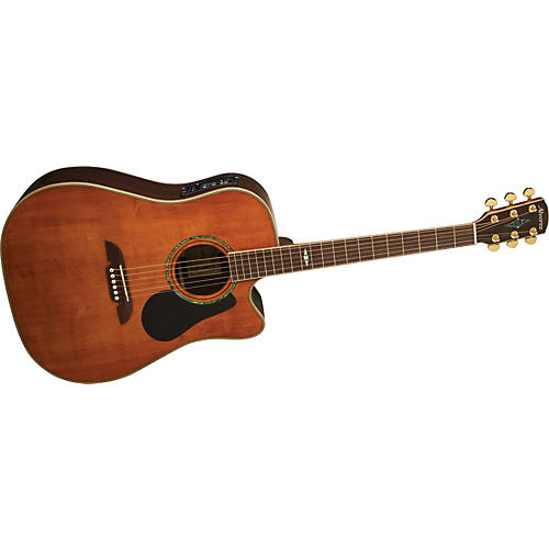 Alvarez PD311CAV Professional Cutaway Dreadnought Acoustic-Electric Guitar with System 600 Mk II