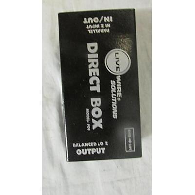 Live Wire Solutions PDI Direct Box Pedal Board