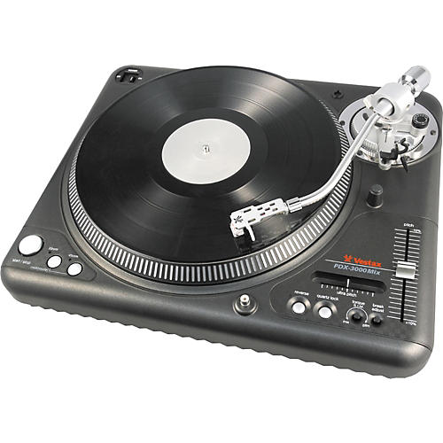 Vestax PDX-3000Mix Professional Turntable with S Tone Arm & MIDI