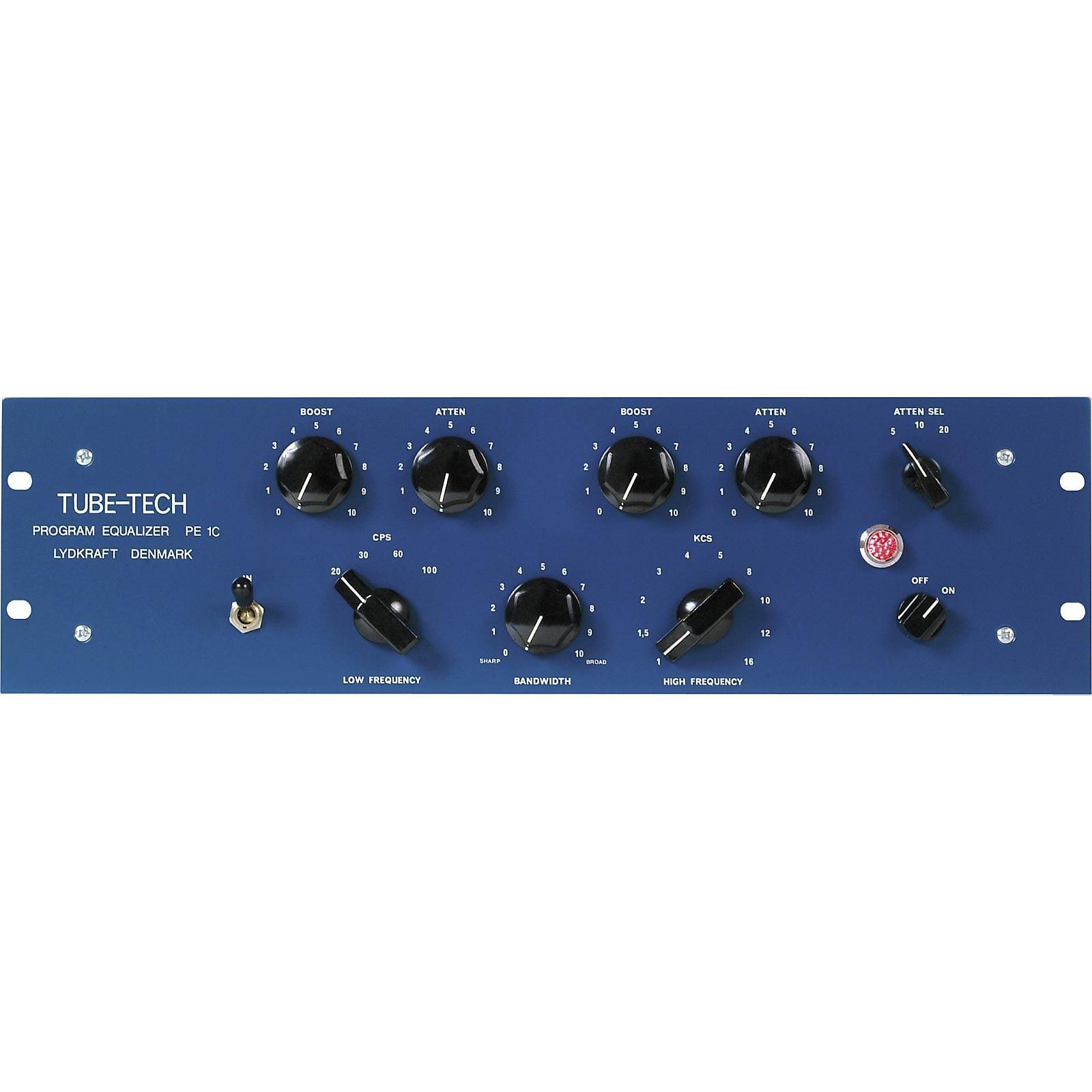 Tube-Tech PE-1C Program Equalizer