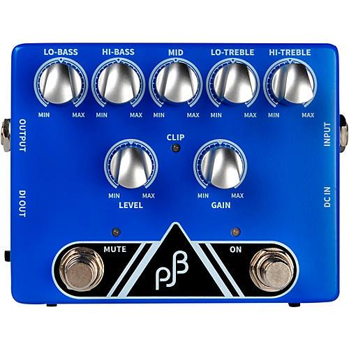 Phil Jones Bass PE-5 Multi Function EQ, PRE-AMP & DI Bass Pedal Blue