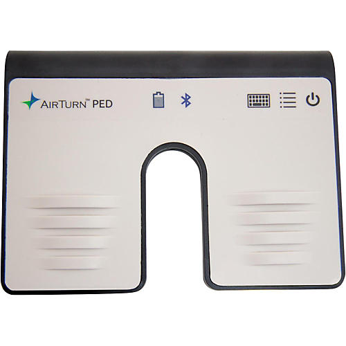 AirTurn PED Hands-Free Dual Footswitch Controller for Bluetooth Smart Equipped Tablets & Computers