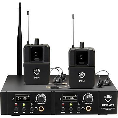 Nady PEM-02 Wireless In-Ear Monitor System