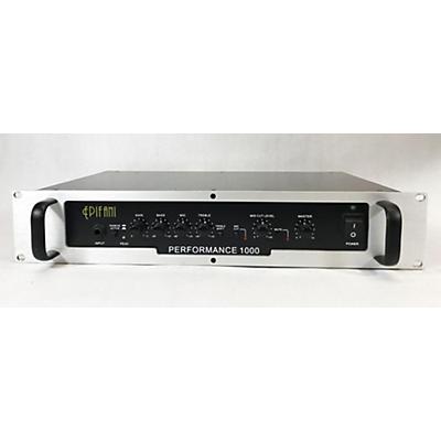 Epifani PERFORMANCE 1000 Bass Amp Head