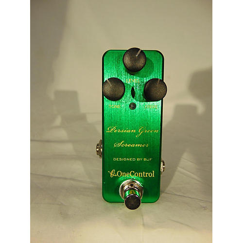 One Control PERSIAN GREEN SCREAMER Effect Pedal