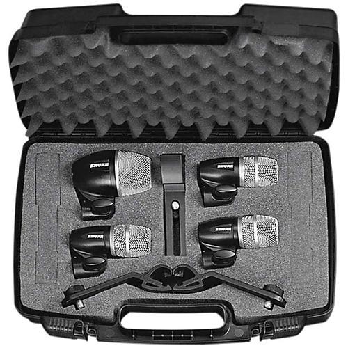 Shure PG 4-Piece Drum Microphone Package