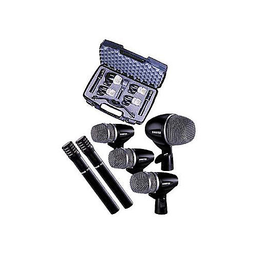 shure pg 6 piece drum microphone package musician 39 s friend. Black Bedroom Furniture Sets. Home Design Ideas