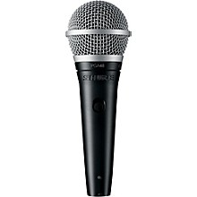 Open Box Shure PGA48-XLR Vocal Microphone with XLR Cable