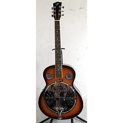 Pyle PGA500BR Resonator Guitar