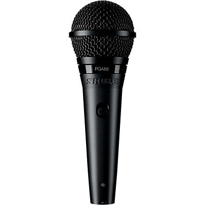 "Shure PGA58-QTR Dynamic Vocal Microphone with XLR to 1/4"" Cable"