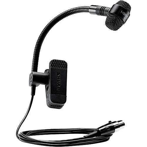 Shure PGA98H-TQG Cardioid Condenser Gooseneck Instrument Microphone with TA4F Wireless System Connector Condition 1 - Mint