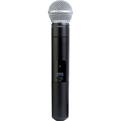 Shure PGXD2/SM58 Handheld Transmitter with SM58 Mic Condition 1 - Mint
