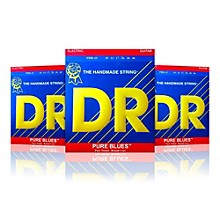 DR Strings PHR-10 Medium Pure Blues Electric Strings - Buy Two, Get One Free