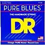 DR Strings PHR9/46 Pure Blues Nickel Lite'n'Heavy Electric Guitar Strings