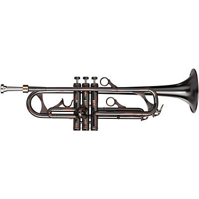 Phaeton PHT-2060 Custom Series Black-Copper Antique Finish Bb Trumpet