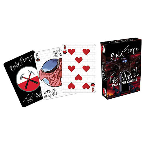 Hal Leonard PINK FLOYD THE WALL PLAYING CARDS