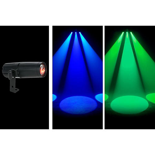 American DJ Pinspot LED Quad DMX Condition 1 - Mint