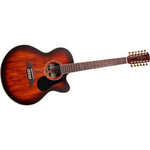 Alvarez PJ85SC-12DVS Cutaway Jumbo 12-String Acoustic-Electric Guitar