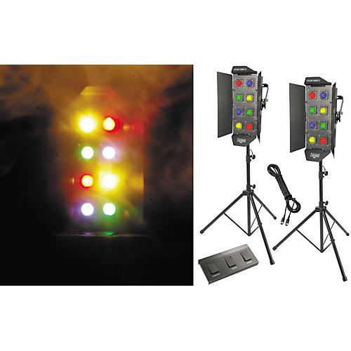 CHAUVET DJ PK1-BANK Rock-N' Lite Stage Lighting Package