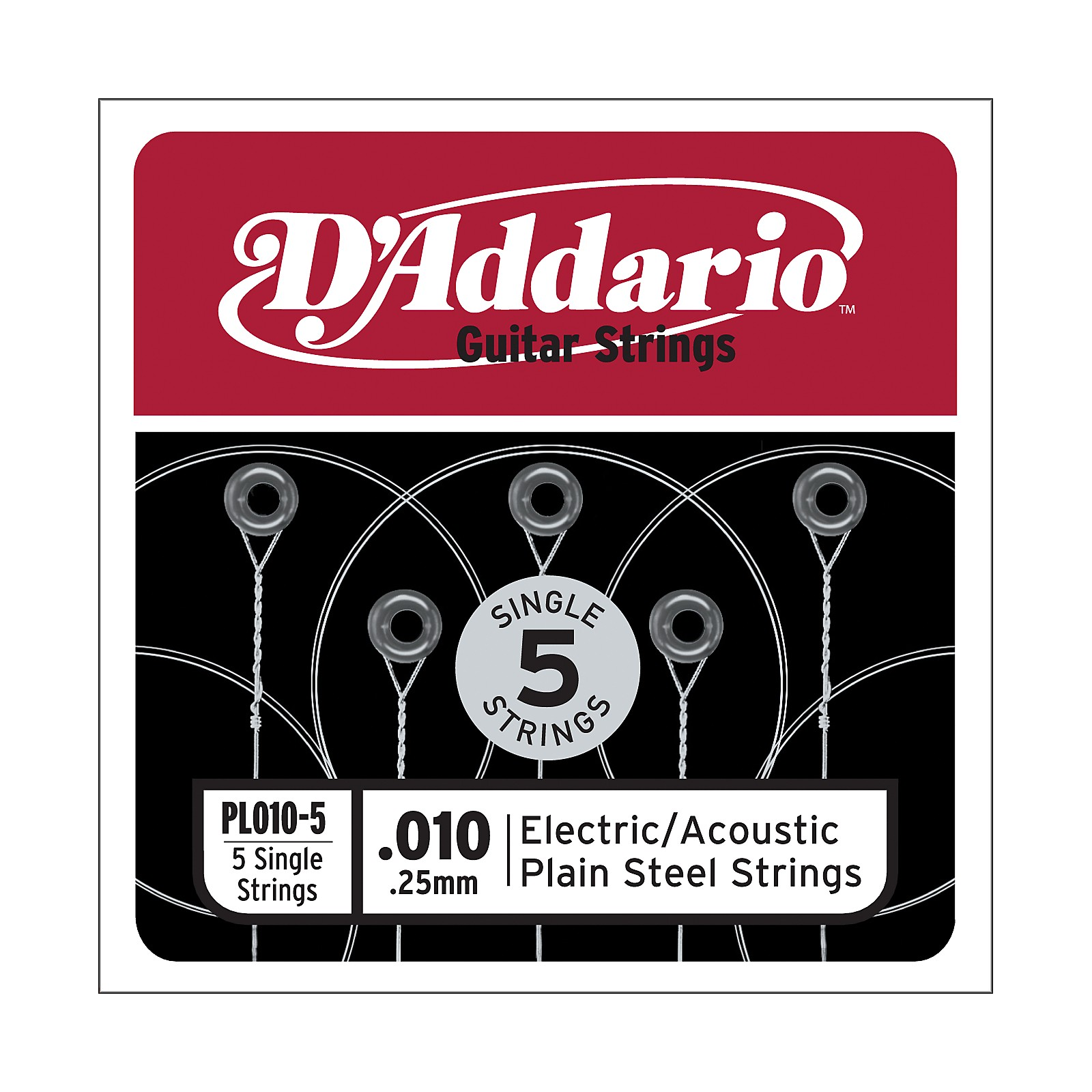 D'Addario PL010-5 Strings
