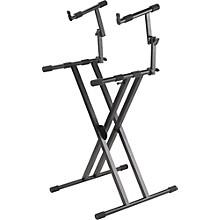 Open BoxProline PL402 2-Tier Double X-Braced Keyboard Stand