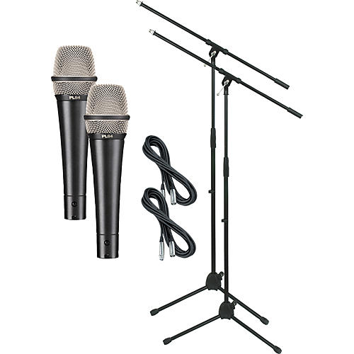 Electro-Voice PL84 with Cable and Stand 2 Pack