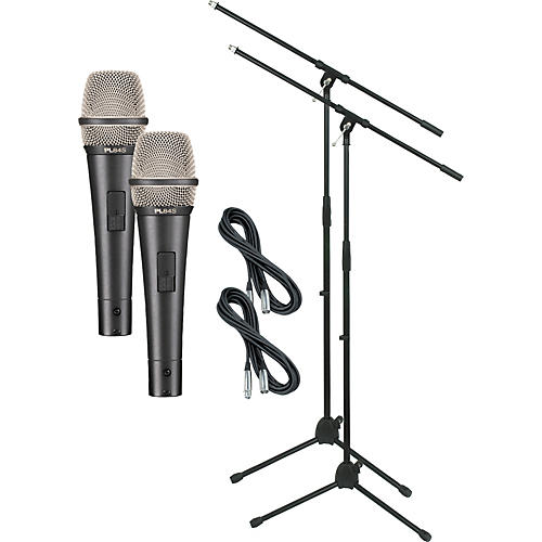 Electro-Voice PL84S with Cable and Stand 2 Pack