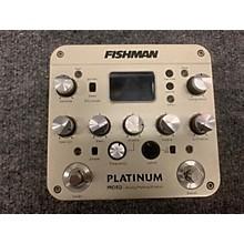 Fishman PLATINUM PRO EQ ANALOG PREAMPLIFICATION Direct Box