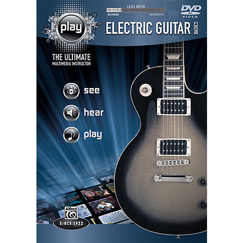 Alfred PLAY: Electric Guitar Basics (DVD)