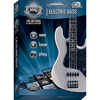 Alfred PLAY Series  Beginning Electric Bass CD-ROM