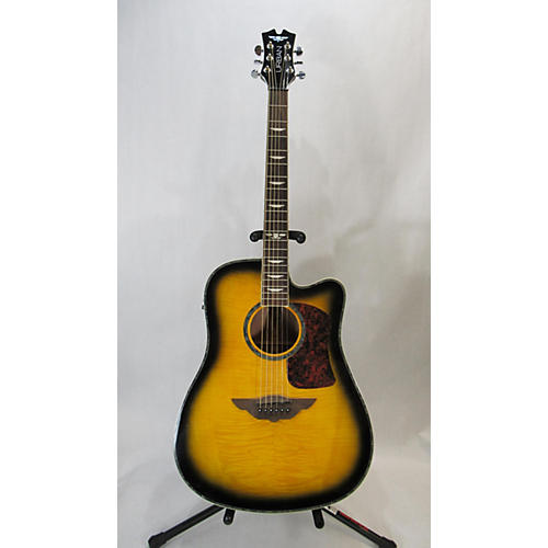 Keith Urban PLAYER Acoustic Electric Guitar Tobacco Burst