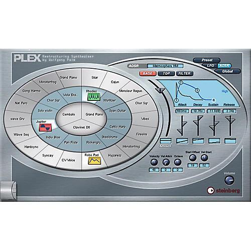 Steinberg PLEX Restructuring VST Synthesizer