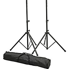 Open Box Proline PLSP1 Speaker Stand Set with Bag