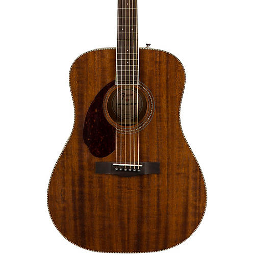 Fender PM-1 Dreadnought All-Mahogany Left-Handed Acoustic Guitar Natural