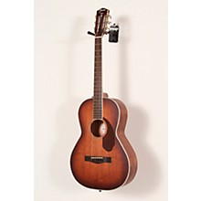 Open BoxFender PM-2E Parlor Limited All-Mahogany Acoustic-Electric Guitar With Case