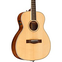 Deals on Fender PM-TE Standard Travel Acoustic-Electric Guitar Natural