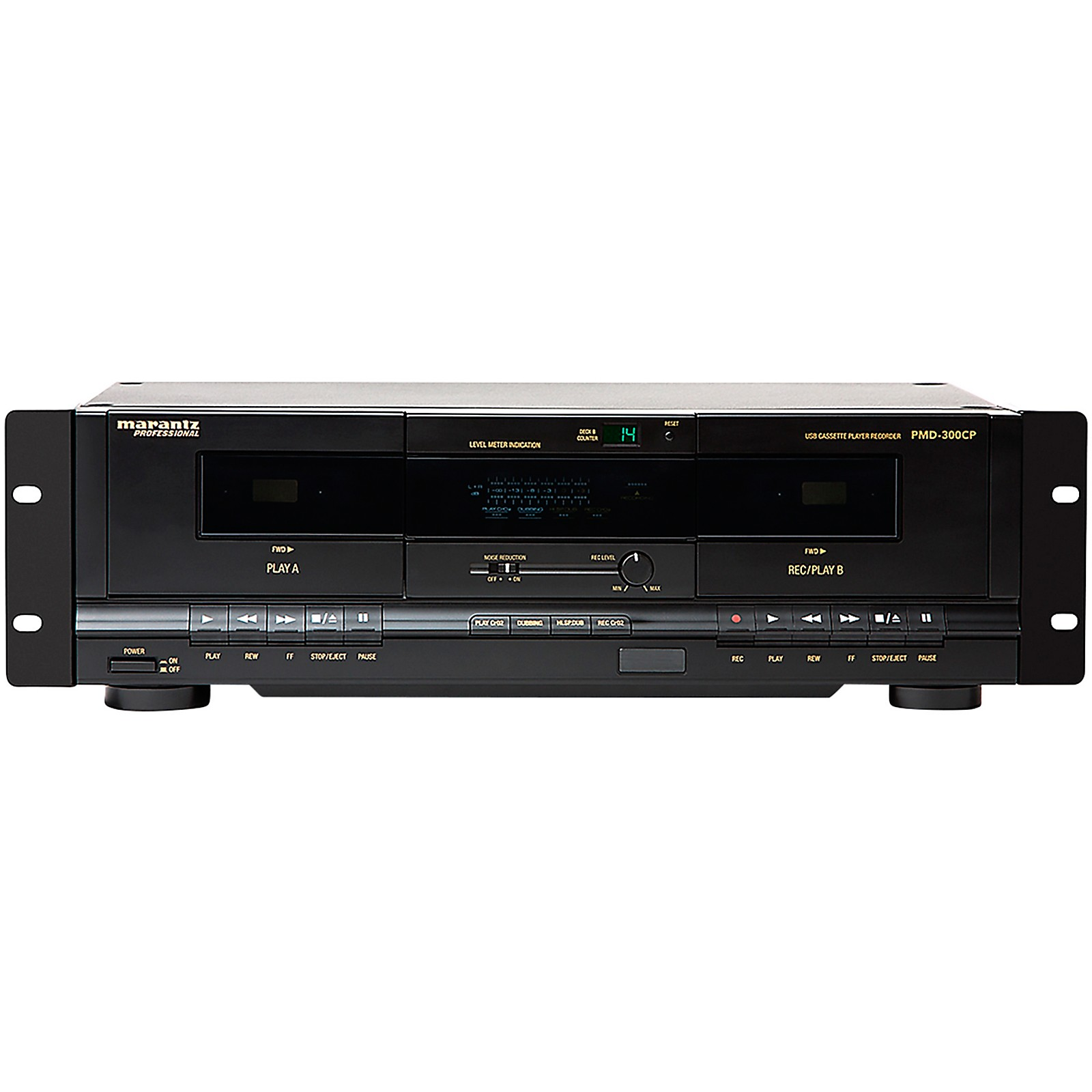 Marantz Professional PMD-300CP Dual Cassette Recorder/Player with USB