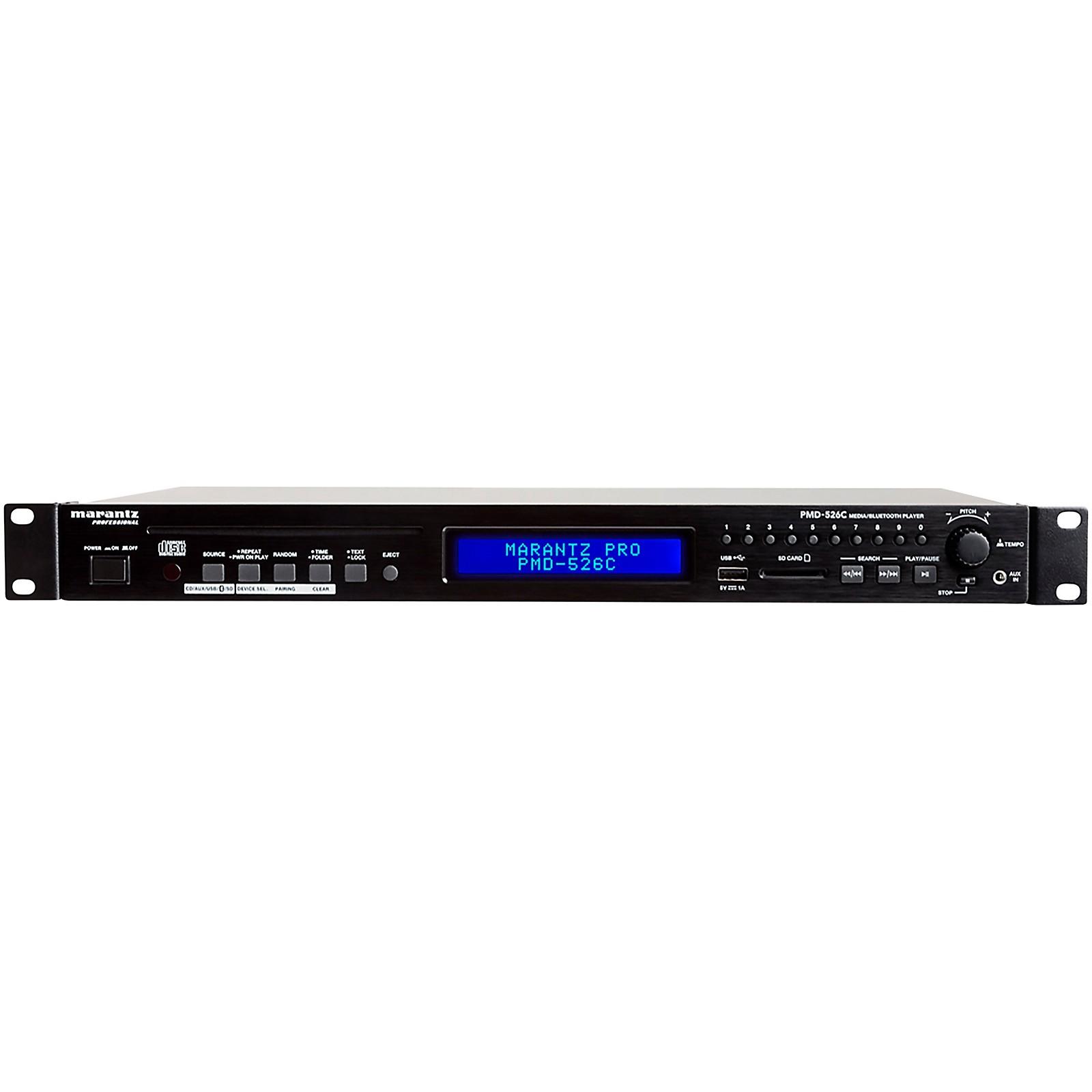 Marantz Professional PMD-526C CD/Media/Bluetooth Player with Remote