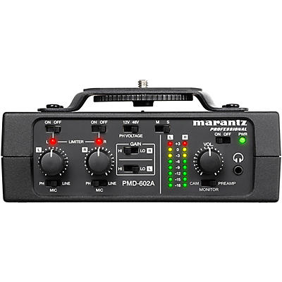 Marantz Professional PMD-602A 2-channel DSLR Audio Interface