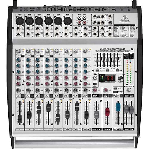 behringer pmh1000 europower powered mixer musician s friend