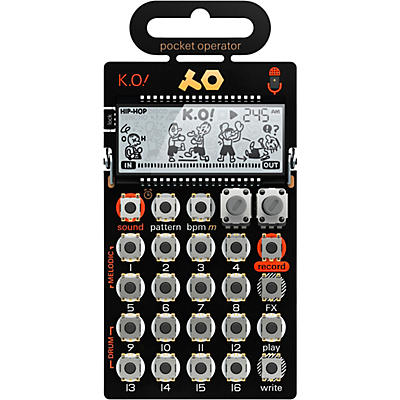 Teenage Engineering Pocket Operator - K.O! PO-33