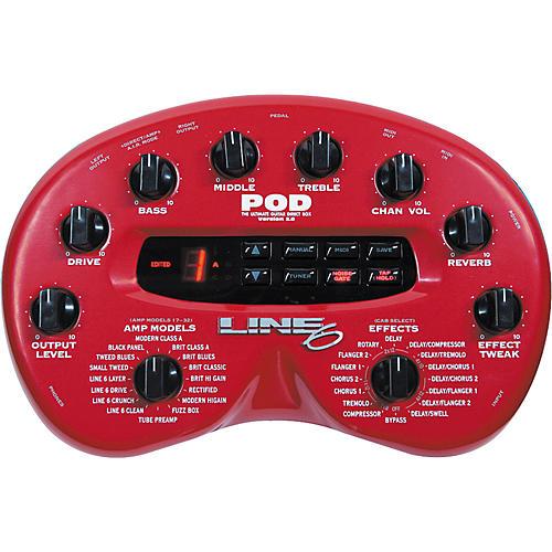 line 6 pod 2 0 amp modeler musician s friend rh musiciansfriend com Line 6 Pod XT Pro line 6 bass pod xt pro user manual