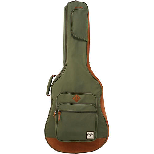 ibanez powerpad acoustic guitar gig bag moss green musician 39 s friend. Black Bedroom Furniture Sets. Home Design Ideas